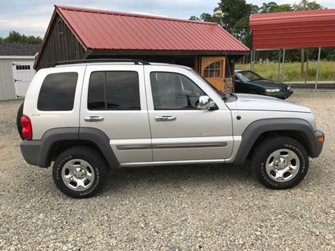 2002 Jeep Liberty for sale at Simon Automotive in East Palestine OH