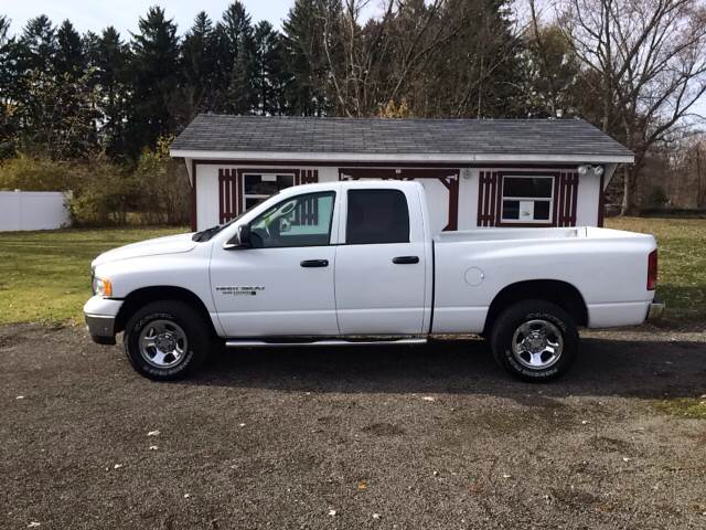 2005 Dodge Ram Pickup 1500 for sale at Simon Automotive in East Palestine OH