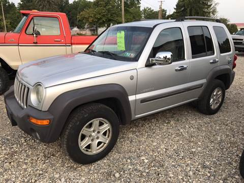 2004 Jeep Liberty for sale at Simon Automotive in East Palestine OH