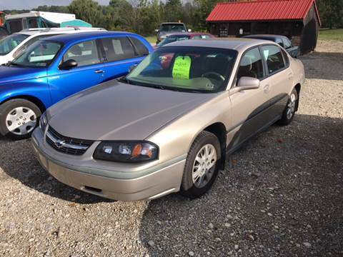2003 Chevrolet Impala for sale at Simon Automotive in East Palestine OH