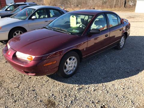2001 Saturn S-Series for sale at Simon Automotive in East Palestine OH