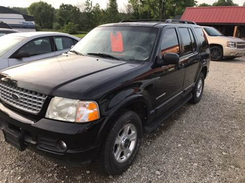 2002 Ford Explorer for sale at Simon Automotive in East Palestine OH
