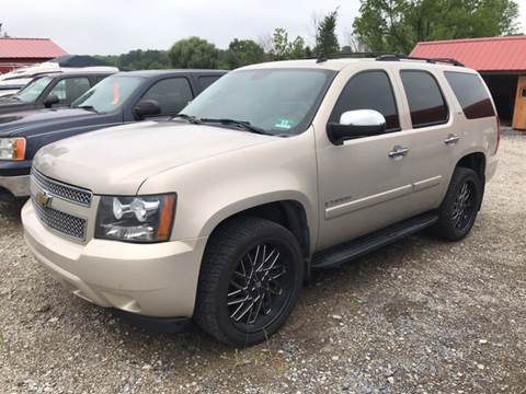 2008 Chevrolet Tahoe for sale at Simon Automotive in East Palestine OH