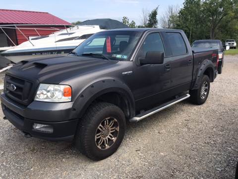2004 Ford F-150 for sale at Simon Automotive in East Palestine OH