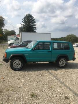 1996 Jeep Cherokee for sale at Simon Automotive in East Palestine OH