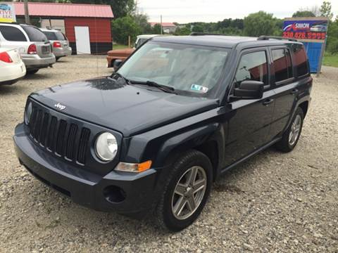 2008 Jeep Patriot for sale at Simon Automotive in East Palestine OH