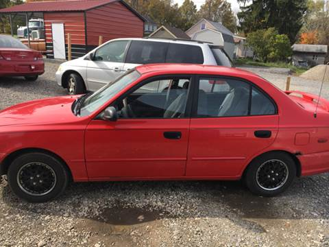 2000 Hyundai Accent for sale at Simon Automotive in East Palestine OH