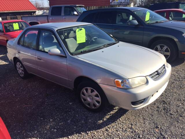 2001 Toyota Corolla for sale at Simon Automotive in East Palestine OH