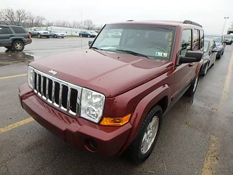 2008 Jeep Commander for sale at Simon Automotive in East Palestine OH
