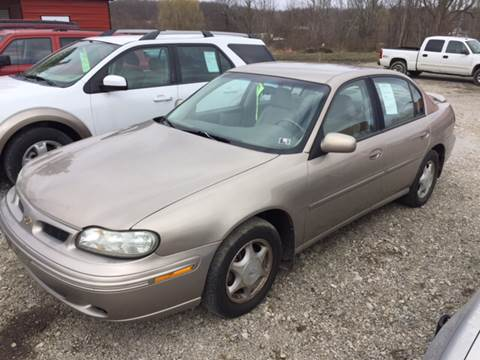 1999 Oldsmobile Cutlass for sale at Simon Automotive in East Palestine OH