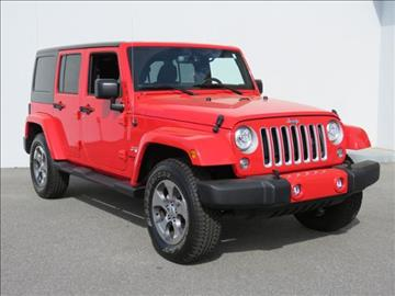 2017 Jeep Wrangler Unlimited for sale at Vehicle Network, LLC - Alfa Romeo Fiat of the Triad in Greensboro NC
