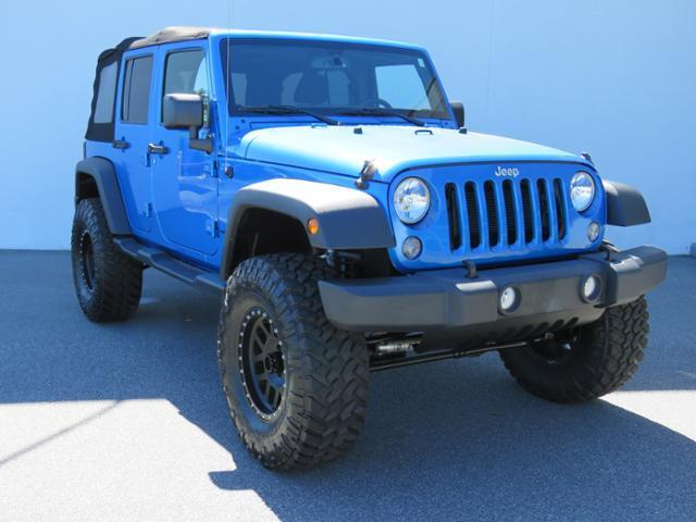 2016 Jeep Wrangler Unlimited for sale at Vehicle Network, LLC - Alfa Romeo Fiat of the Triad in Greensboro NC