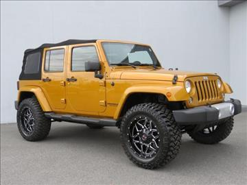 2014 Jeep Wrangler Unlimited for sale at Vehicle Network, LLC - Alfa Romeo Fiat of the Triad in Greensboro NC