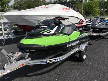 2017 Sea-Doo GTR-X 230 for sale at Vehicle Network, LLC - Performance East, INC. in Goldsboro NC