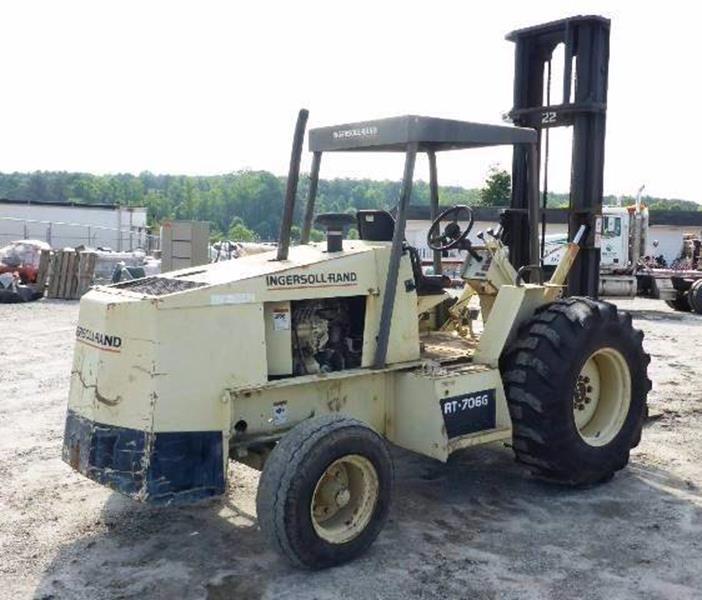 1993 Ingersoll Rand Forklift RT 706 G for sale at Vehicle Network, LLC - Ironworks Trading Corporation in Norfolk VA