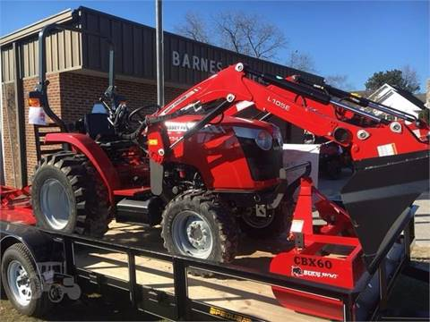 2017 Massey-Ferguson 1734E for sale at Vehicle Network, LLC - Barnes Equipment in Sims NC