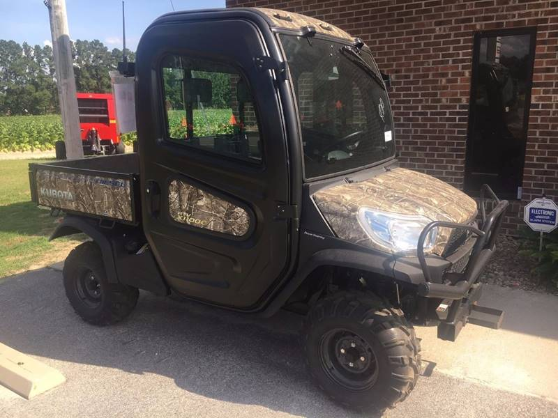 2017 Kubota RTVX1100CR for sale at Vehicle Network, LLC - Barnes Equipment in Sims NC