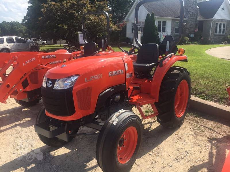 2017 Kubota L2501F for sale at Vehicle Network, LLC - Barnes Equipment in Sims NC