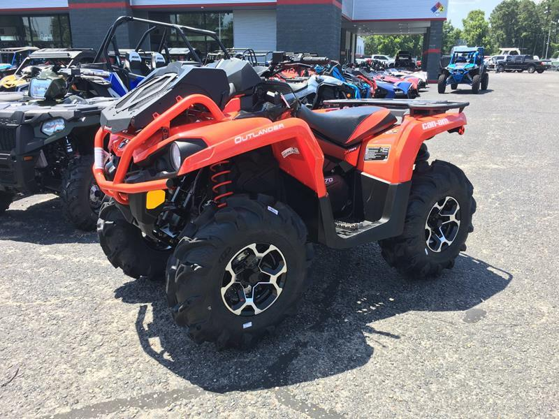 2018 Can-Am Outlander X mr 570 for sale at Vehicle Network, LLC - Performance East, INC. in Goldsboro NC