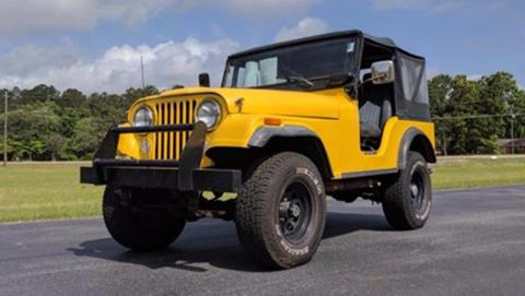 1975 Jeep CJ-5 for sale at Vehicle Network, LLC - I-95 Muscle in Hope Mills NC