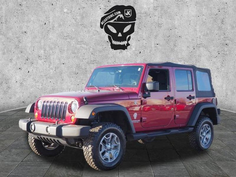 2011 Jeep Wrangler Unlimited for sale at Vehicle Network, LLC - Alfa Romeo Fiat of the Triad in Greensboro NC