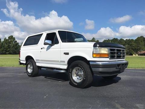 1996 Ford Bronco for sale at Vehicle Network, LLC - I-95 Muscle in Hope Mills NC