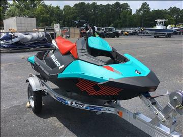 2017 Sea-Doo Spark 2up Trixx iBR for sale at Vehicle Network, LLC - Performance East, INC. in Goldsboro NC
