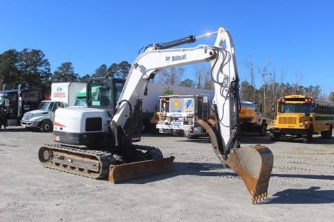 2016 Bobcat E85 T4 for sale in South Wilson, NC