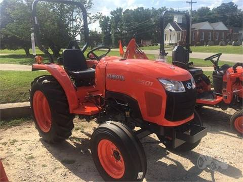 2018 Kubota L2501F for sale in Sims, NC