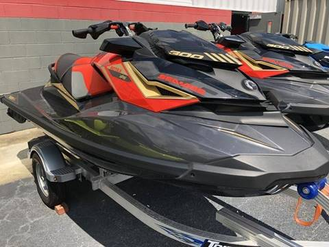 2019 Sea-Doo RXP -X  300 Black and Lava Red for sale in Goldsboro, NC