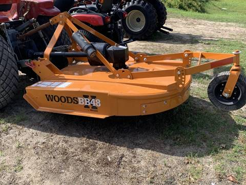 2019 Woods BB48X Rotary Cutter 48'' Demo for sale in Kinston, NC