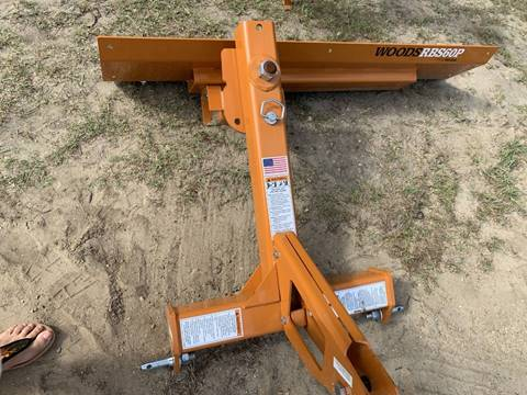 2019 Woods RBS60P Rear Blade 5ft for sale in Kinston, NC