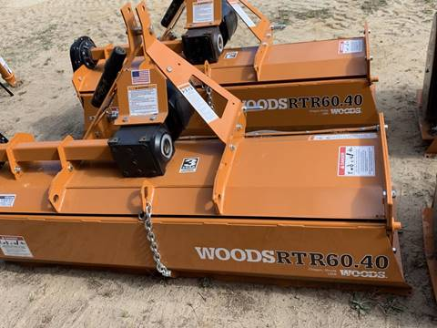 2019 Woods RTR60 40 Rotary Tiller 5ft for sale in Kinston, NC