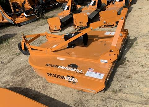 2019 Woods BB60X C Rotary Cutter 60 for sale in Kinston, NC