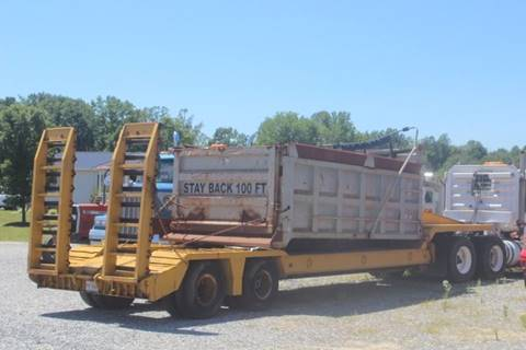 Kaufman Heavy Equipment Trailer for sale in Thomasville, NC