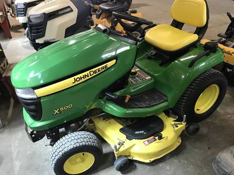 2012 John Deere X500 for sale in Kinston, NC
