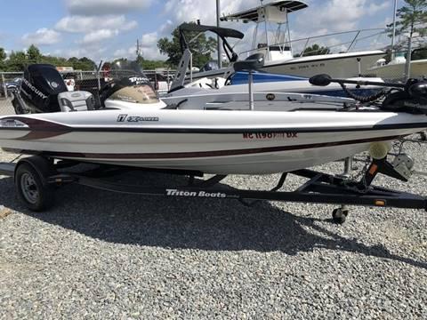 2013 Triton Boats 17 EXPLORER for sale in Goldsboro, NC