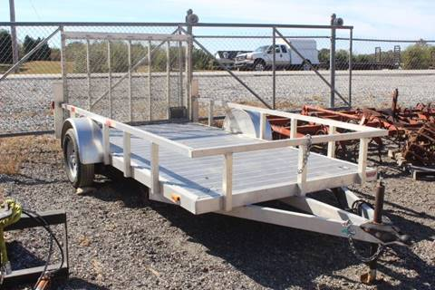 Trailer Utility with Rear Ramp for sale at Vehicle Network - Joe's Tractor Sales in Thomasville NC