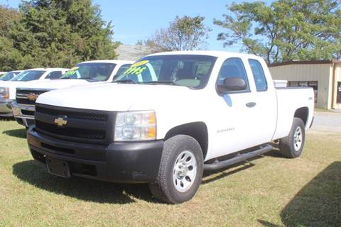 2011 Chevrolet Silverado 1500 Work Truck for sale at Vehicle Network - LEE MOTORS in Princeton NC