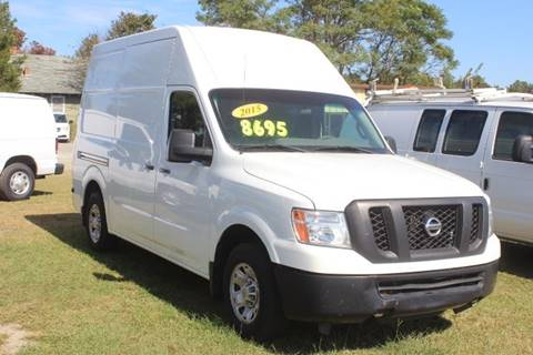 2015 Nissan NV Cargo 2500 HD S for sale at Vehicle Network - LEE MOTORS in Princeton NC
