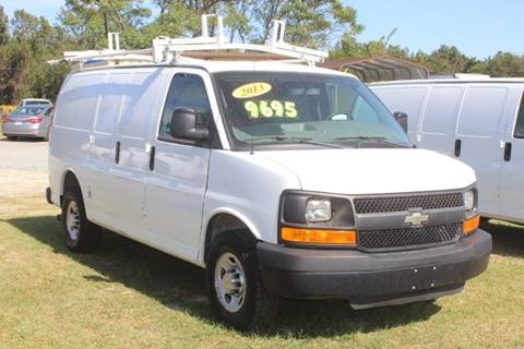 2013 Chevrolet Express Cargo 2500 for sale at Vehicle Network - LEE MOTORS in Princeton NC