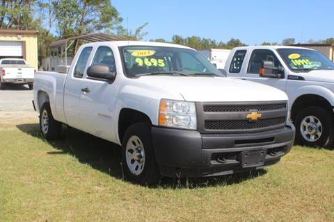 2013 Chevrolet Silverado 1500 Work Truck for sale at Vehicle Network - LEE MOTORS in Princeton NC