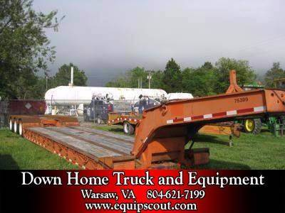 2001 Talbert Lowboy for sale at Vehicle Network, LLC in Apex NC