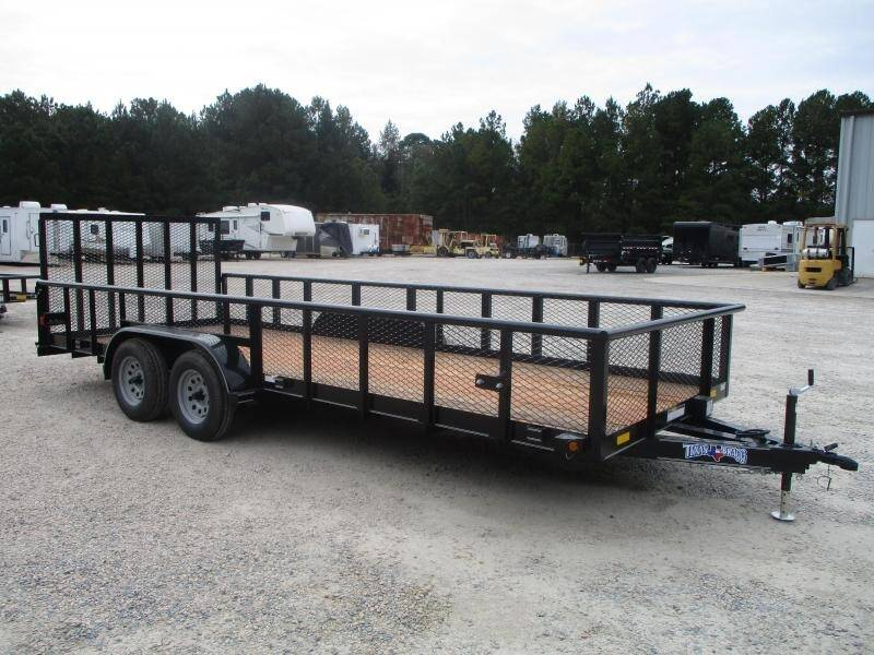 2020 Texas Bragg Trailers 20' Tandem Axle for sale at Vehicle Network - HGR'S Truck and Trailer in Hope Mill NC