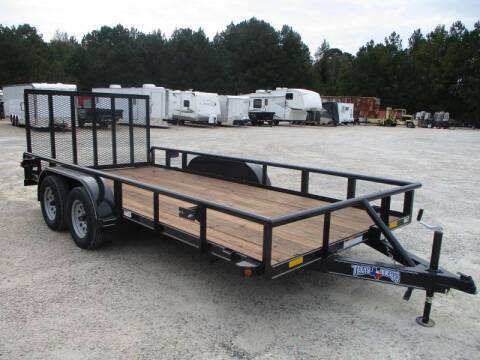 2020 Texas Bragg Trailers 16' Tandem Axle for sale at Vehicle Network - HGR'S Truck and Trailer in Hope Mill NC