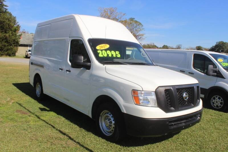 2017 Nissan NV Cargo for sale at Vehicle Network - LEE MOTORS in Princeton NC