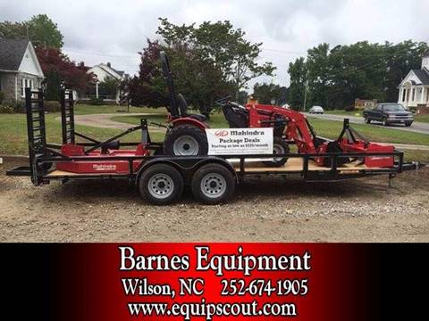 2016 Mahindra Max26XL for sale at Vehicle Network, LLC - Barnes Equipment in Sims NC