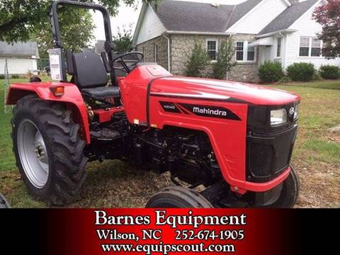 2016 Mahindra 4540 for sale at Vehicle Network, LLC - Barnes Equipment in Sims NC
