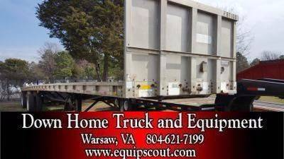1992 Wilson Flatbed Trailer for sale at Vehicle Network, LLC in Apex NC
