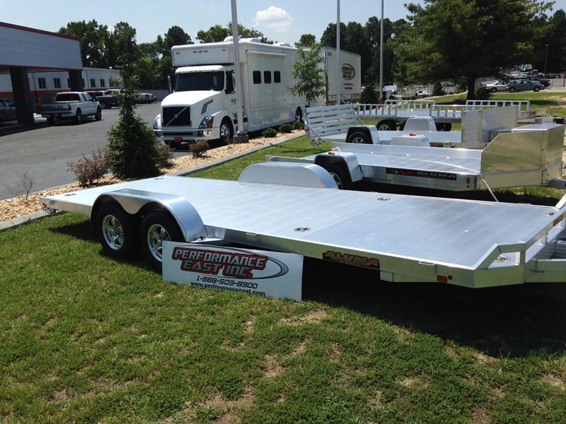 2016 Aluma 8220 TANDEM UTILITY TRAILER for sale at Vehicle Network, LLC - Performance East, INC. in Goldsboro NC